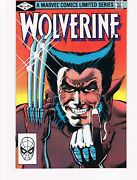 Wolverine 1 1982 High Grade Copy Marvel Direct Edition Limited Series 🔥📈