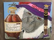 Blanton's Bourbon Whiskey Old Tan Label Cigar Collection 11x14 Kyle Jarboe