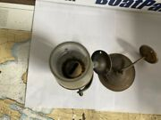 Vintage Antique Weems And Plath - Oil Yacht Lamp Brass W/ Smoke Bell - Used
