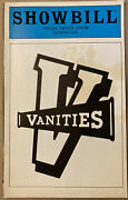 Vanities Showbill Playbill 1980 The Show That Launched Kathy Bates