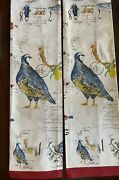 Williams Sonoma 12 Days Of Christmas Kitchen Towels Set Of 2