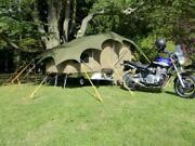 Light Weight Trailer Tent Camper With Awning Double Memory Foam Bed
