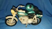 Old Vintage Plastic Harley Davidson Motorcycle Toy From China 1980