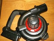 Craftsman 40 Volt Max Lithium Cordless Sweeper Leaf Blower Cmcbl98021-tool Only