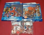 Full 2.0 Disney Infinity Originals And Marvel Power Disc And Albums + Rare Magicband