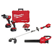 M18 Fuel 18-volt Lithium-ion Brushless Cordless Hammer Drill/impact Driver/blowe