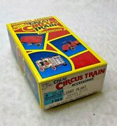 Vintage Walthers Great Circus Train Accessories W/ Original Box 933-1361