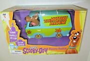 Vintage New Scooby Doo Mystery Machine Rumble Action Collectible Cartoon Vehicle