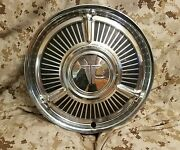 1 Wheel Hub Cap 1962 62 Oldsmobile Cutlass F-85 13 Gm Oem Used Olds