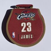 Nba Cleveland Cavaliers 23 Lebron James Cd Dvd Wallet Holds 24cd/dvd