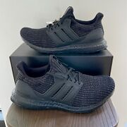 Adidas Ultra Boost 4.0 Triple Black | Fy9121 | New With Box
