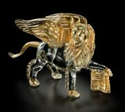 Lion Winged Venice S Marco Murano Glass Original Made Andigraven Italy Made By Hand