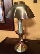 Studios Favrile Electrified Candle Lamp