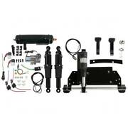 Electric Center Stand + Air Ride Suspension Tank Fit For Harley Road Glide 09-16
