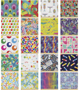 Ambesonne Colorful Scene Microfiber Fabric By The Yard For Arts And Crafts
