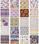Ambesonne Pastel Microfiber Fabric By The Yard For Arts And Crafts