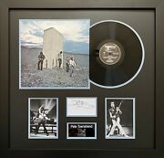 Pete Townshend Hand Signed Framed Vinyl Display The Who Who's Next Autograph