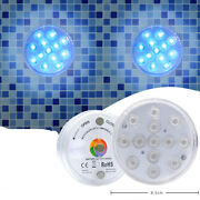 4pack 13x Led Submersible Color Changing Waterproof Bathtub Lights For Shower