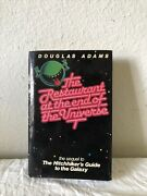 Restaurant At The End Of The Universe Douglas Adams First Edition Hardcover