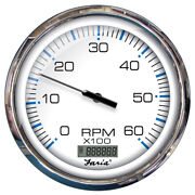 Faria Beede 33863 Faria 5andquot Tachometer With Digital Hourmeter 6000 Rpm