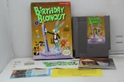 The Bugs Bunny Birthday Blowout Nes Nintendo Authentic Tested