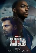 The Falcon And The Winter Soldier Poster 11 X 17 Sebastian Stan, Anthony Mack