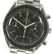 Omega Speedmaster 3510.50 Chronograph Black Dial Automatic Menand039s Watch_614089