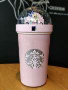 Starbucks 2019 Summer Music Stage Bear Steel Double Layer Water Cup + Lid
