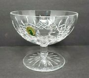 Waterford Crystal Lismore Open Candy Dish Bowl Signed Jim O'leary 2007