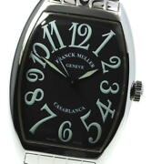 Franck Muller Casablanca 6850 Black Dial Automatic Menand039s Watch_615524