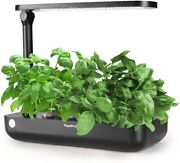 Smart Hydroponic Growing System 9 Pods Plant Starter Kit Herb Grow Light Auto