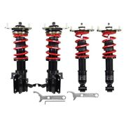For Scion Fr-s 13-14 Coilover Kit 0.6-2.4 X 1-2.6 Black-i Front And Rear