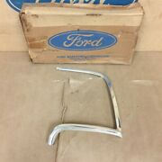 Nos Ford 70 71 Montego Mx Villager Wagon Oem D0gy-16b124-a Rh Eyebrow Moulding