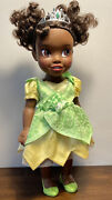 """Tollytots Disney Princess And The Frog Tiana Deluxe Toddler Doll 14"""" Tolly Tots"""