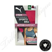 Active Support Performance Sports Bras Small 2 Pack Nwt New
