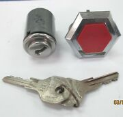 1955 Packard Cylinder Set Trunk And Glove Box And03955 Locks Packard Keys Coded P1326