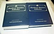 Postal Commemorative Society Statehood Quarter Collection Vol.i And Ii Complete