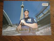 Aaron Judge 2019 Topps Stadium Club 10 X 14 Gold Poster And039d 1/1