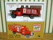 Beckand039s Hybrids 1937 Chevy Stake Truck By First Gear 1/34th Scale