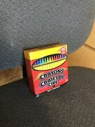 See Description Brand New 48 Pack Of Colored Crayons With Built In Sharpener