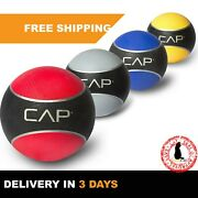 Slam Weighted Medicine Ball | Core Muscle Cardio Workout Fitness Exercise 10 Lbs