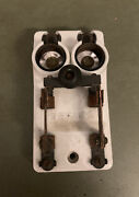 Antique Two Socket Porcelain Electric Bryant Cool Knife Blade Switch Soc21