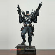 Batman Resin Model 1/4 Scale Painted Statue In Stock Custom-made Knight Figure