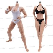 1/6 Male And Female Seamless Body Doll Model Fit Phicen 12 Action Figure Toy Head