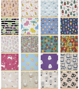 Ambesonne Cartoon Art Microfiber Fabric By The Yard For Arts And Crafts