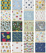 Ambesonne Cartoon Nursery Microfiber Fabric By The Yard For Arts And Crafts