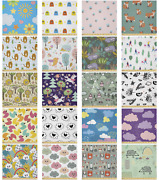Ambesonne Cartoon Form Microfiber Fabric By The Yard For Arts And Crafts