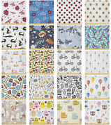 Ambesonne Cartoons Art Microfiber Fabric By The Yard For Arts And Crafts