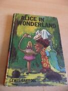 Alice In Wonderland Old Vintage Childrens Story Book Carroll Bancroft Classics