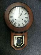 Antique 31 Day Clock Montgomery Ward And Co. 31day. Works For Awhile Then Stops.